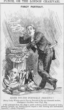 Oscar Wilde'i kohtuasja pilati Londoni ajalehtedes mõnuga.