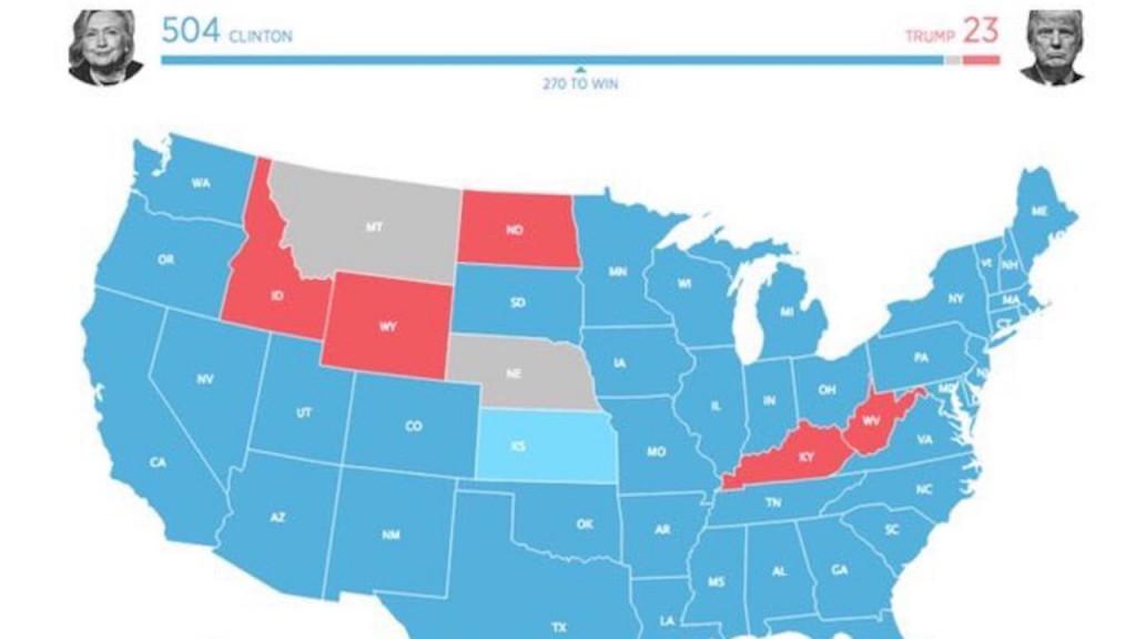 Sotsiaalmeedias levis valimisjärgsetel tundidel kaart, mis näitas, milline oleks valijameestekogu näinud välja kui vaid alla 25-aastased saanuks hääletada.